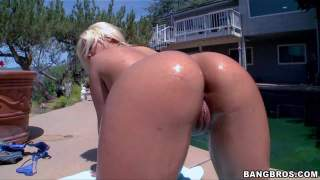 Bridgette B is a sexy blonde with killer booty. She