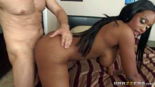 Codi Bryant is a juicy black mom with big tits