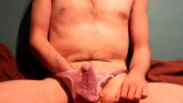 37 – Wank in Thong