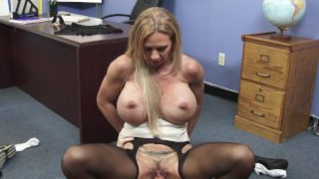 Busty blonde teacher Brooke Tyler bangs her bad student — Naughty America