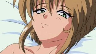 Charming hentai cutie getting tiny quim screwed in bedroom