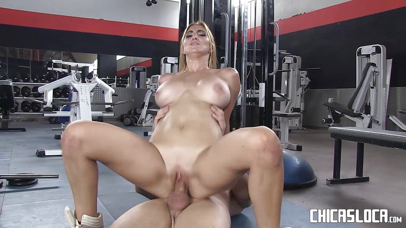 Chicas Loca – Busty Latina fucked at the gym