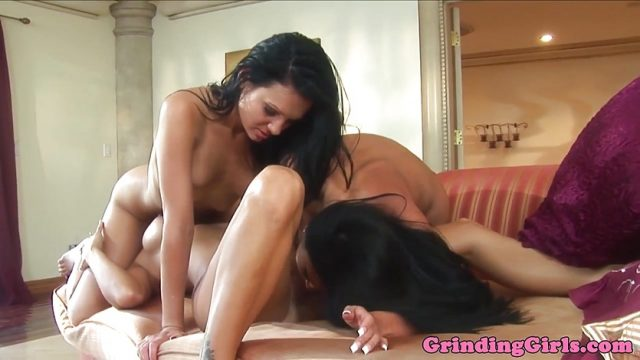 Glam dykes lustful cunnilingus and analplay