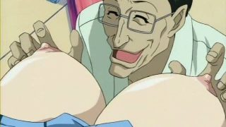 Green eyed blonde hentai honey getting big tits teased and pussy fingered