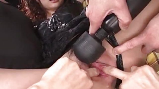 Kinky Megumi Shino has her sweet muff poked with sex toys