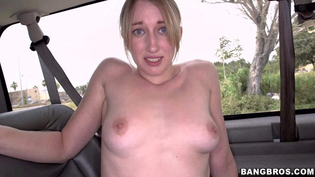 Pale skinned blonde Riley Reynolds is another cutie nets door
