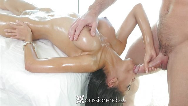 Passion-HD – Busty Shay Evans fucks cock during massage