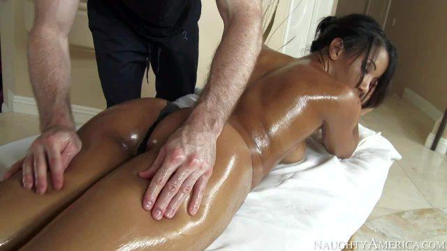Sophia Fiore's body is just amazing and masseur Brick Danger