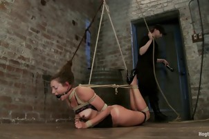 Wife Learns The Plesures Of Being Tied Up