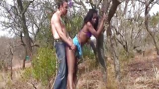 African amateur loves to fuck