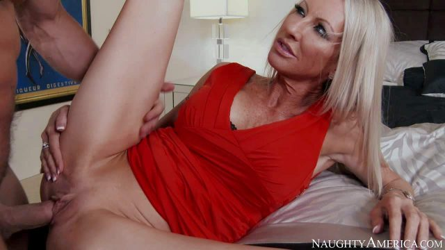 Emma Starr is his good looking mature woman with slim