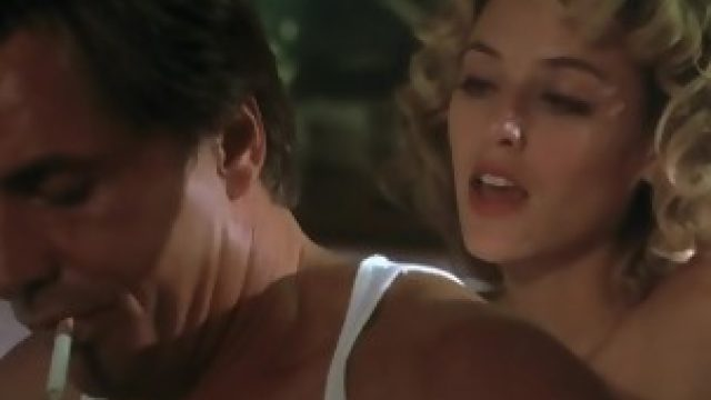 Virginia Madsen nude in The Hot Spot (1990)