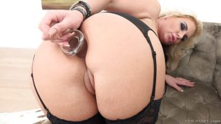 Phoenix Marie pussy hammered balls deep in the ass