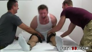 Gay fetish foot Leon's Size 13 Feet & Body Tickle d