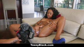 TeenyBlack Delicious Ebony Babe Fucked 1st Time Video