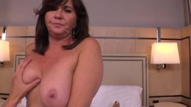 Thick Cougar MILF hungry for young cock