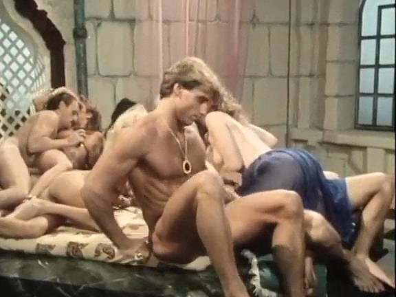 Kristara Barrington, Susan Berlin, Bunny Bleu in vintage sex video