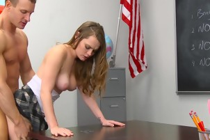 Monica rise soft and pink pussy dick inside