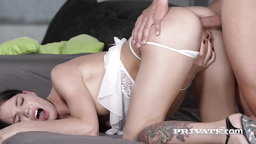 Private.com – Lovenia Lux loses her anal innocence