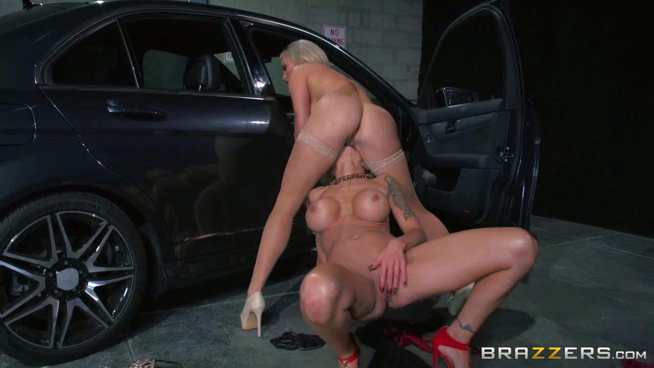 Cameron Dee and Nina Elle are two gorgeous lesbian babes