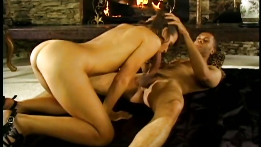 Cock hungry babe stuffs her mouth with this hard cock