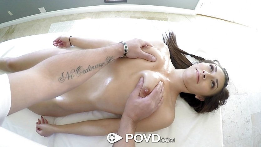 POVD Kara Faux stretches out her pussy for dick