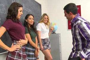 Sierra Day and friends are hot for teacher