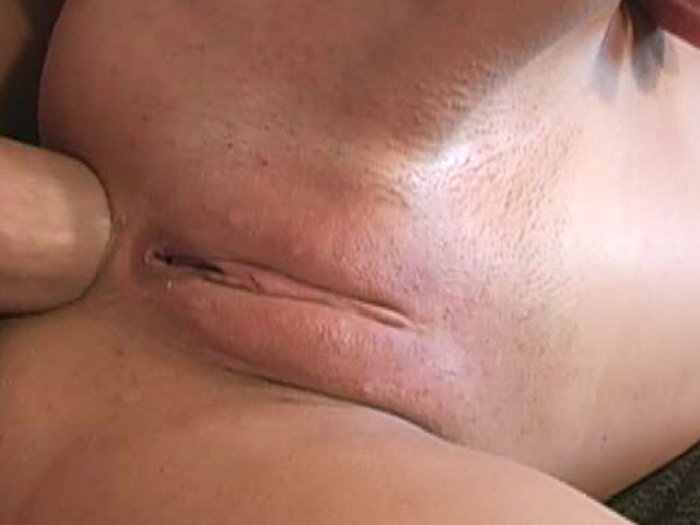 Small titted slut Amber Rayne gets anally fucked from behind by a monster dick