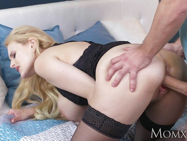 Busty blonde milf gets her pussy nailed