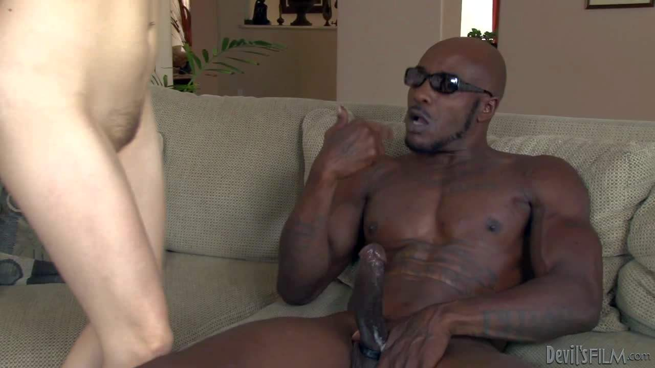 Redhead with glasses Penny Pax can't wait to take big chocolate cock