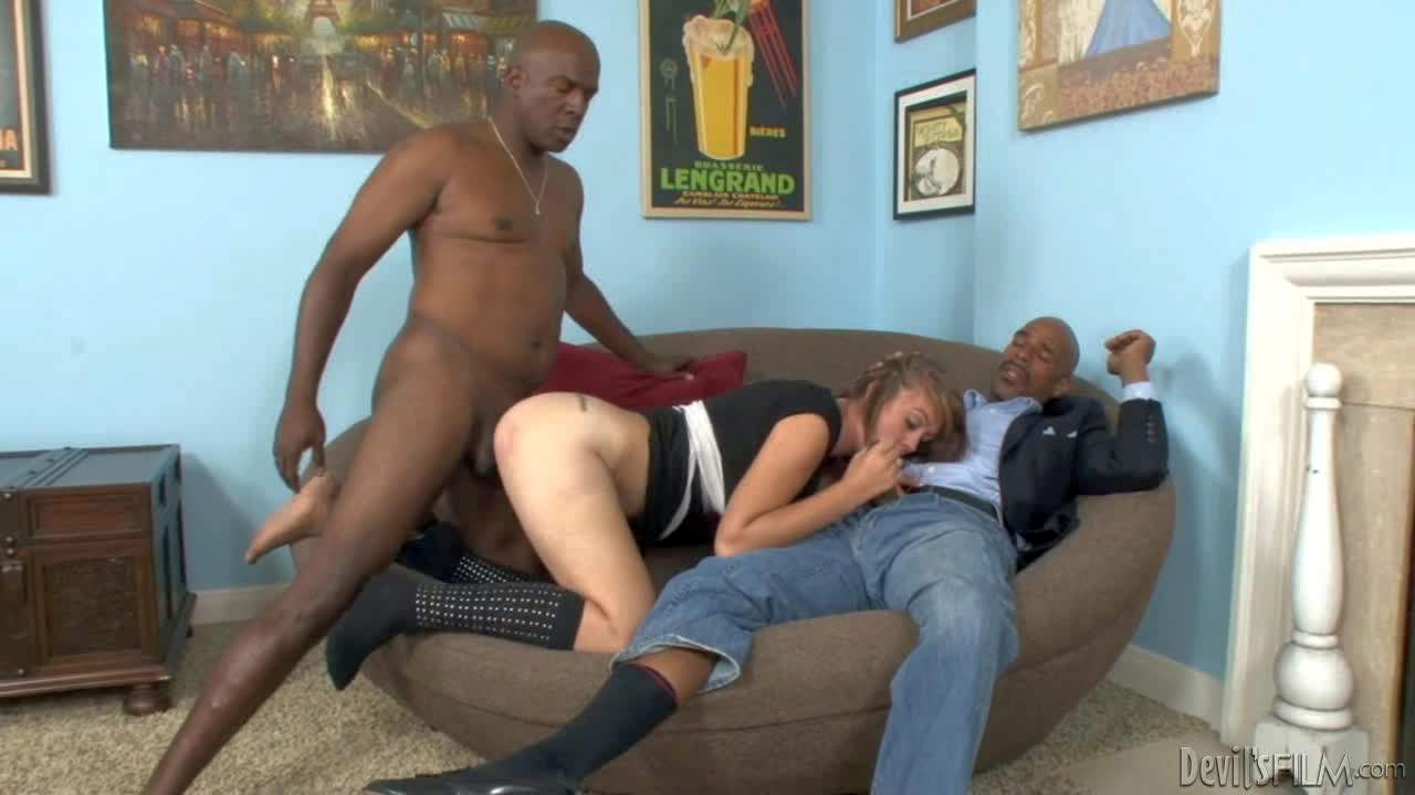 His wife Kasmine Cash loves big black dick