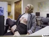 Hot Ava Hardy gets creampied by a hunk stud