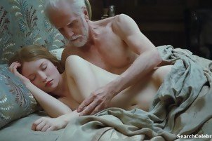 Emily Browning nude scenes from Sleping Beauty
